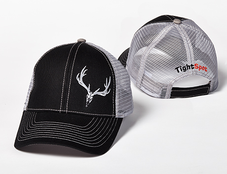 TightSpot Black Mesh Hat