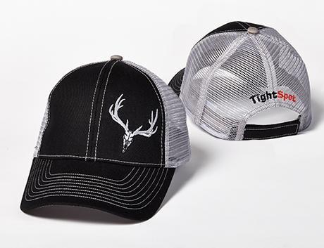 TightSpot Black Mesh Hat