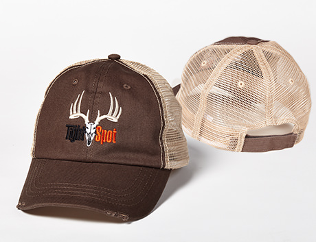 TightSpot Brown Mesh Hat