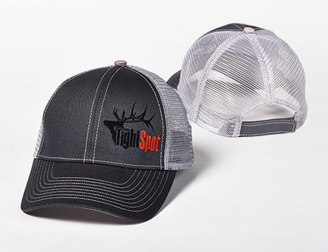 TightSpot Grey Mesh Hat